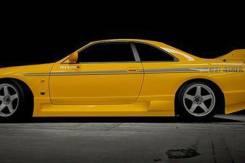 Порог пластиковый. Nissan GT-R Nissan Skyline, ER33, ENR33, HR33, BCNR33, ECR33. Под заказ