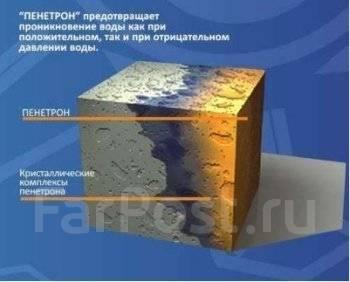 Проникающая гидроизоляция бетона пенетрон гидроизоляция крыши ондулином