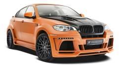 Обвес кузова аэродинамический. BMW X6