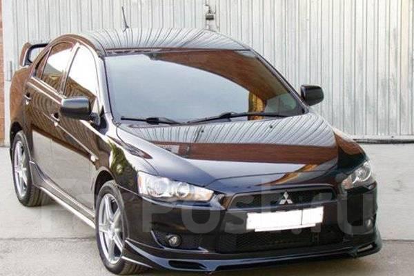 Накладка декоративная. Mitsubishi Lancer