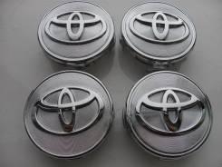 """Колпачки =Toyota= Заглушки на диски. 62мм. Комплект 4 штуки. Диаметр Диаметр: 16"""", 1 шт."""