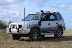 Шноркель. Toyota Land Cruiser Prado, LJ95, KDJ95W, KZJ90, KZJ95, LJ90, KZJ90W, KZJ95W, KDJ90, KDJ95 Двигатели: 1KZT, 3L, 1KZTE, 1KDFTV