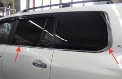 Молдинг стекла. Toyota Land Cruiser, GRJ200, J200, URJ200, UZJ200, UZJ200W, VDJ200