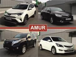 Прокат автомобилей Toyota 2009-2017г. на выгодных условиях. Хабаровск. Без водителя