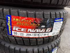 Goodyear Ice Navi 6. Зимние, без шипов, без износа, 4 шт