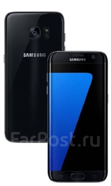 Samsung Galaxy S7 Edge Duos. Новый, 32 Гб, Черный, 3G, 4G LTE, Dual-SIM, Защищенный