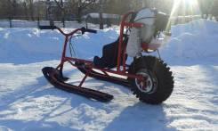 Мото-снегокат детский-подростковый для самостоятельного вождения!