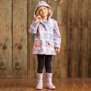 Новое Классное утепленное пальто - дождевик от Hatley. Рост: 110-116 см
