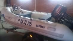 Brig. длина 360,00м., двигатель подвесной, бензин