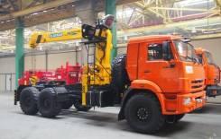 Камаз 43118 Сайгак. Кран-манипулятор, тягач КамАЗ-43118 с КМУ, 11 760 куб. см., 7 000 кг.