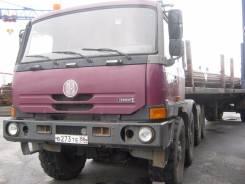 Tatra T815. Автомобиль -290N9T 8X8.1R (Седельный тягач), 12 667 куб. см., 22 500 кг.