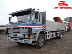 P112 HL, 1988. Самопогрузчик Манипулятор Scania P112 HL по выгодной цене, 11 015 куб. см., 7 500 кг.