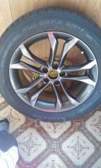 Nissan. 8.0x18, 5x114.30, ET45, ЦО 66,5мм.
