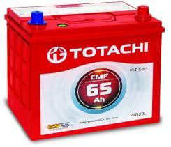 Totachi. 65 А.ч., правое крепление, производство Корея