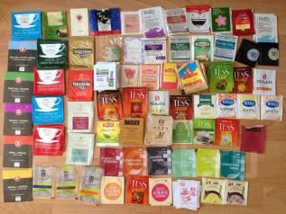 Коллекция пакетиков от чая