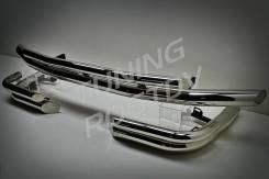 Защита бампера. Lexus LX570 Toyota Land Cruiser, UZJ200W, VDJ200, J200, GRJ200, URJ200, UZJ200 Двигатели: 3URFE, 1VDFTV, 1GRFE, 2UZFE