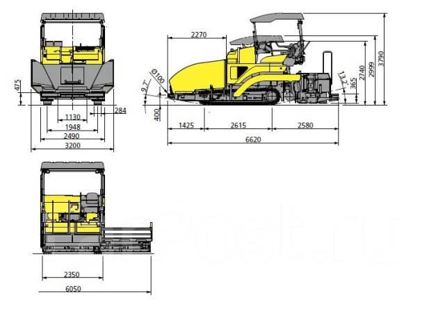 Sumitomo HA60C-7. Гусеничный асфальтоукадчик Sumitomo HA60C-8, 2 999куб. см.