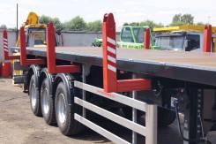 Grunwald. Продается полуприцеп площадка с кониками новые, 44 000 кг.