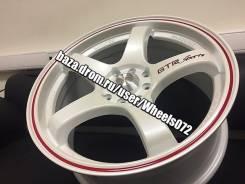Sakura Wheels 391A. 7.5x17, 4x100.00, ET42
