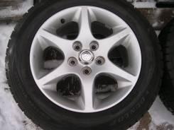Колеса R16 Toyota Aristo Mark2 + зима 215/60 R16 Dunlop Winter Maxx. 7.5x16 5x114.30 ET50 ЦО 60,1мм.