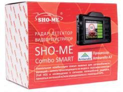 NEW Гибридный радар-детектор Sho-Me Combo Smart: миниатюрнее не бывает