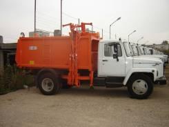 Коммаш КО-440-2. КО-440-2 на шасси ГАЗ-33098 Мусоровоз с боковой загрузкой, 4 250куб. см.