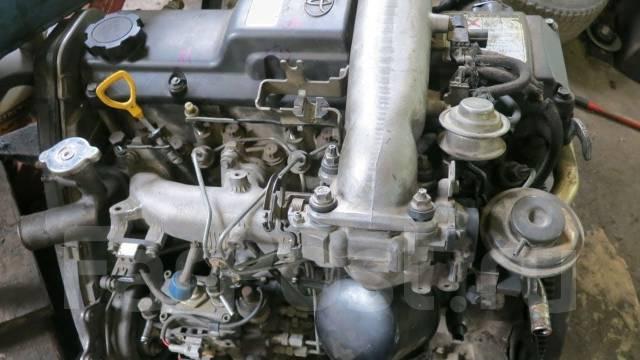 Toyota  двигатель 1KZ-TE