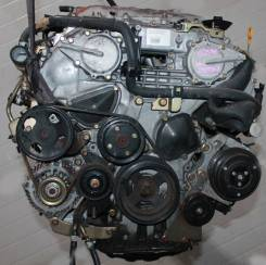 Двигатель. Nissan Fuga, Y50 Двигатель VQ25DE