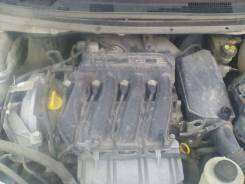 Двигатель. Nissan Almera, G11, L8 Renault Logan, L8 Двигатель K4M