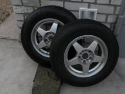 """Комплект шин для автомобиля. 5.5x15"""" 5x100.00 ET-65 ЦО 54,0мм."""