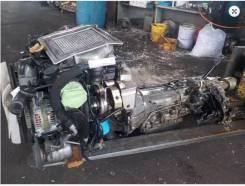 Двигатель в сборе. Nissan Mistral Двигатель TD27T