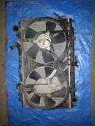 Радиатор охлаждения двигателя. Nissan Bluebird, ENU14 Двигатели: SR18DE, SR18DI