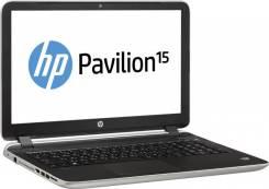 """HP 15. 15.6"""", 2,1ГГц, ОЗУ 6144 МБ, диск 750 Гб, WiFi, Bluetooth"""