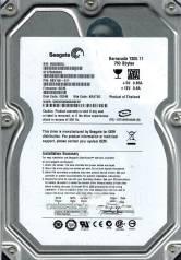 Жесткие диски. 750 Гб, интерфейс SATA2