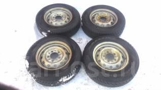 Продаю комплект колёс R15 Нива 2121/2131 5x139.7. x15 5x139.70