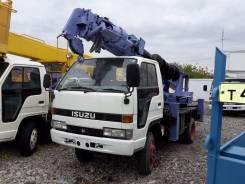 Aichi D502. 4WD Автобуровая бурильно крановая ямобур полный привод 4WD Аичи Тадано, 4 200 куб. см., 3 000 кг.
