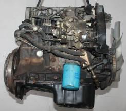 Двигатель. Nissan Vanette Largo, KUGNC22 Двигатель LD20T