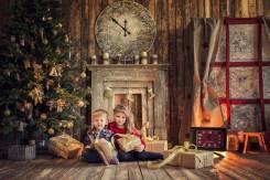 Детский фотограф Новогодние декорации для ваших детей!