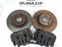 Subaru передние тормоза суппорта диски колодки. Subaru Legacy