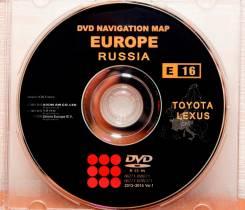 Диск навигации Е16 для Toyota, Lexus и Prius