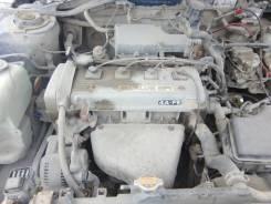 Двигатель в сборе. Toyota Carina E Двигатель 4AFE