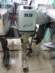 Honda. 9,90л.с., 4-тактный, бензиновый, нога X (635 мм), Год: 1999 год