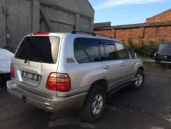 Дверь багажника. Toyota Land Cruiser, HDJ101, UZJ100W, HDJ101K, HDJ100, UZJ100L, UZJ100, HDJ100L