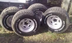 Комплект колес 150/5 на тлк 105. 9.75x16.5 5x150.00 ET-25 ЦО 110,0мм.