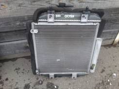 Радиатор охлаждения двигателя. Toyota Passo, KGC10 Двигатель 1KRFE