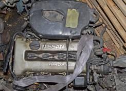 Двигатель в сборе. Nissan Bluebird, EU12 Двигатель SR18DI