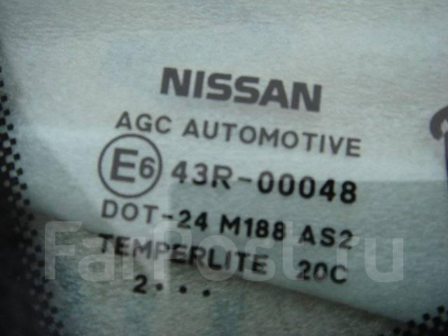 Стекло боковое. Nissan Qashqai Nissan Dualis