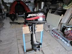 Mercury. 4,00л.с., 2х тактный, бензин, нога S (381 мм), Год: 2012 год