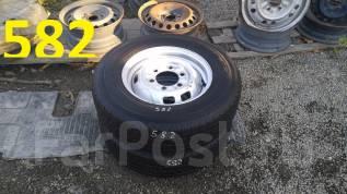 Продам пару грузовых колёс Toyo V-02 185R14LT 8PR. 5.0x14 6x139.70 ЦО 100,0мм.
