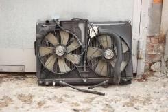 Радиатор охлаждения двигателя. Toyota Crown, GS171W, GS171